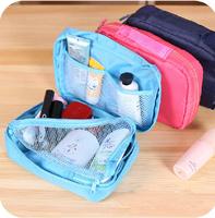 2014 New Bag in Bag Men's Travel Storage Bags Accessories Organizer grocery cosmetic makeup bag Organizador portable  nylon