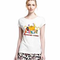 Autumn Summer Clothes Adventure Time T-shirt Women Friends GFT The BATMAN T Shirt Collection Women Cartoon Short Sleeve Tshirt