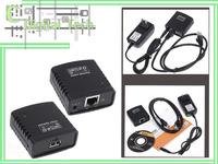 Servidor de rede USB 2.0  free shipping  USB 2.0 LRP Print Server - Share a Ethernet WIFI Networking USB Printer