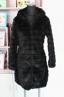 Free shipping Winter women's 2014 faux fur medium-long faux overcoat fox fur outerwear plus size s - 5xl size black  white beige