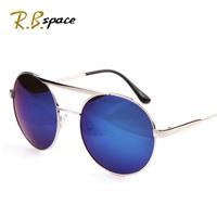 2014 Women fashion metal sunglasses Unisex Hippie Shades Hippy 60S John Lennon Style Vintage Round Peace Sunglasses