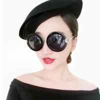 2014 sunglasses female sunglasses vintage glasses star style fashion big box