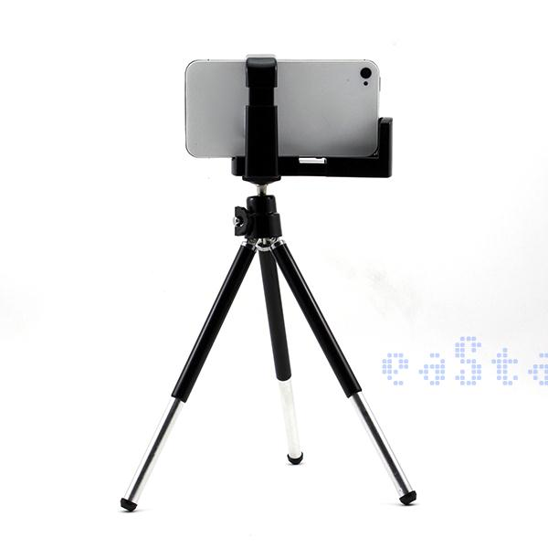 Black Cellphone Camera Video Tripod Stand Holder Mount Dock for iPhone 5 5G 4S 4(China (Mainland))