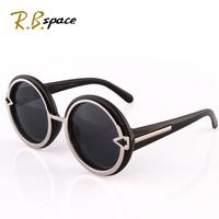 Sunglasses female 2014 glasses female sunglasses women's fashion vintage round box sunglasses female