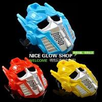 Free shipping Cartoon plastic mask dance performance mask  transformers  optimus prime red ,yellow ,blue  15pcs/lot