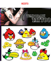 Free shipping! New Tattoo stickers,for Body Art Temporary Tattoos,about crystal body for Children for Kids Party!KC073A