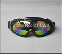 2014 new outdoor Windproof glasses ski goggles dustproof  Cruiser Motorcycle Motocross Goggles Eyewear ski glasses Free shipping