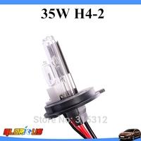 2pcs 35W  H4-2 H13-2 9004/9007-2 HID Xenon Bulb 4300K 6000K 8000K 10000K 12000K,xenon H4