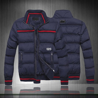 2014 Free shipping winter cold-proof men down coat wholesale worsted men down jacket