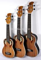 High Quality Ukelele Acoustic Guitars 21 inch  Kaka Kus/c-008MH Ukulele Free Shipping