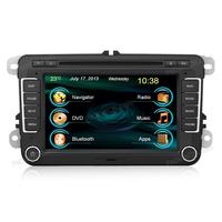 Promotion car dvd player 2 din car radio with navigation camera For VW Tiguan/ Passat/ Golf 6/ Jetta(I7037V1) in dash GPS