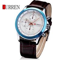 2014 New Men's Watches Classic Luxury Brand Watch Business Casual Fashion  Leather Gentlemen Quartz Watch Wristwatch ML0273