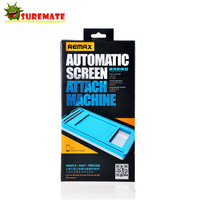 Remax DIY Universal Automatic Smart Phone Screen Protector Attach Machine Cover Film For Samsung Galaxy S4/ S3 For iphone lenovo