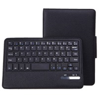 Bluetooth Keyboard Texture Leather Case With Holder for Samsung Galaxy Tab 4 7.0 SM-T230 High Quality New Design Free Shipping
