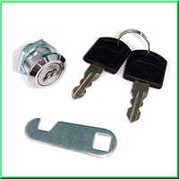 Door Shop Cabinet Mailbox Drawer Cupboard Security Cam Chest Lock Camlock 2 Keys