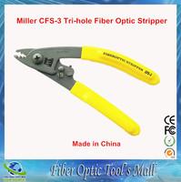 3pcs/lot High Quality Miller CFS-3 Clauss Tri-hole Fiber Optic Stripper