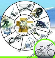 ORK-MINIV  36V 250W  V Brake Hub Motor Electric Bicycle Conversion Kit  Kettle Shape Lithium Battery CE CE EN15194