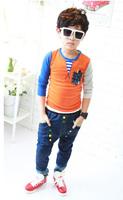 New Arrival Autumn Fashion Children t Shirts a Brilliant Color Long Sleeve t-Shirt Baby Boys Cotton Sport Tops t Shirts