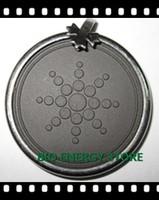 L003 30pcs/lot Sunflower with authentic card Quantum Science Scalar energy pendant