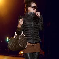 Winter Coat  Women Slim Short Parka Cotton Winter Jacket Coat Women's Coats and Jackets Plus Size Free Shipping AS1259