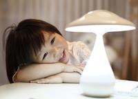 Free Shipping Mushroom Air Purifier Lamp USB Rechargeable Touch Sensor LED Night Light Desk Lamp 16