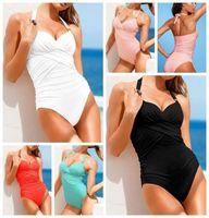 New 2014 Stylish SEXY Monokini Swimsuit  Girl/Lady Push-up Padded Bra Halter-neck One-piece Swimwear S/M/L