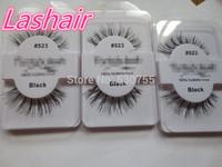 false eyelashes natural human hair eyelash extension #523 hign quality