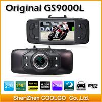 Original Novatek Chipset 1080P 30fps 2.7' LCD 140 Degree Lens Car Vehicle Black Box Camera Recorder DVR GS9000L