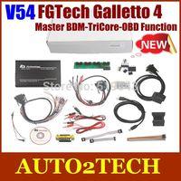 Free DHL!! 2014 New FGTech V54 Galletto 4 Master BDM-TriCore-OBD Function FGTech V54  ECU Chip Tunning Tools