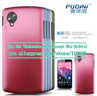 Free shipping 5pcs/lot New Dark color plastic Hard Shell Case Flexible Skin Cover Case for LG Google Nexus 5