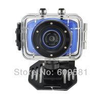 Cheap Sports DVR Helmet Waterproof Camera Action Camera Sport Outdoor mini Camcorder DV hot digital video cameras free shipping