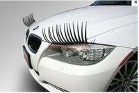 New Automotive eyelashes car eye lashes auto 3D Eyelash 3D auto logo sticker 400pcs=200 Pairs Free shipping by DHL 0r EMS
