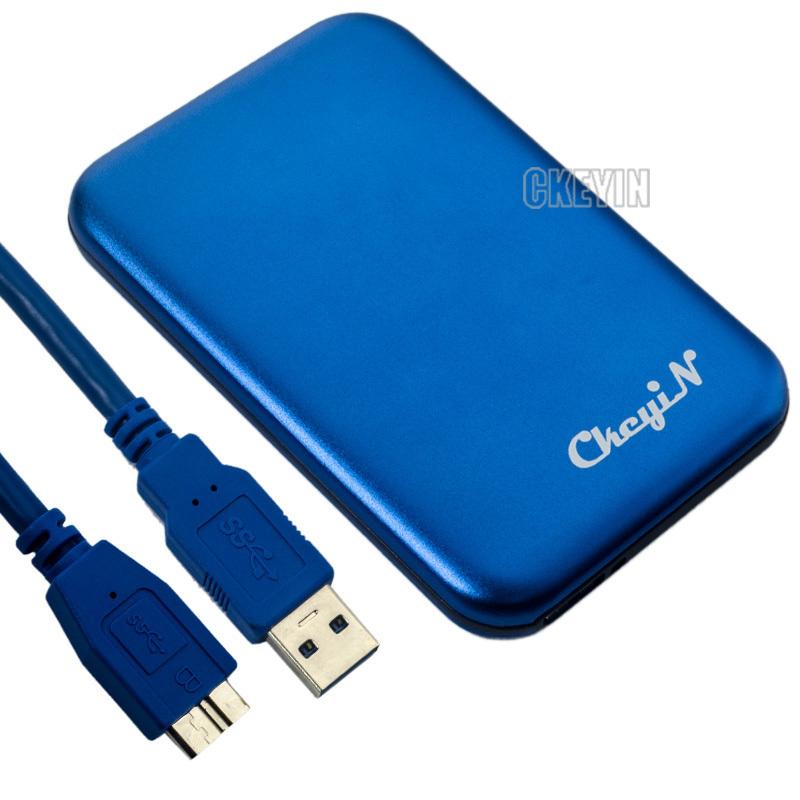 """USB 3.0 External SATA 2.5"""" HDD Enclosure Case , Externo Hard Disk Box/Case 0.6-CS301B(China (Mainland))"""