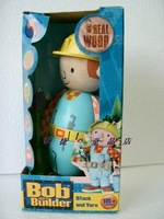 Child wooden toys bob the Builder toy Wooden doll Original design Free shipping 1pc