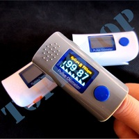 Healthcare*** Visual Alarm ***OLED Display Fingertip Pulse Oximeter Bood Oxygen SPO2 PR oximetro monitor