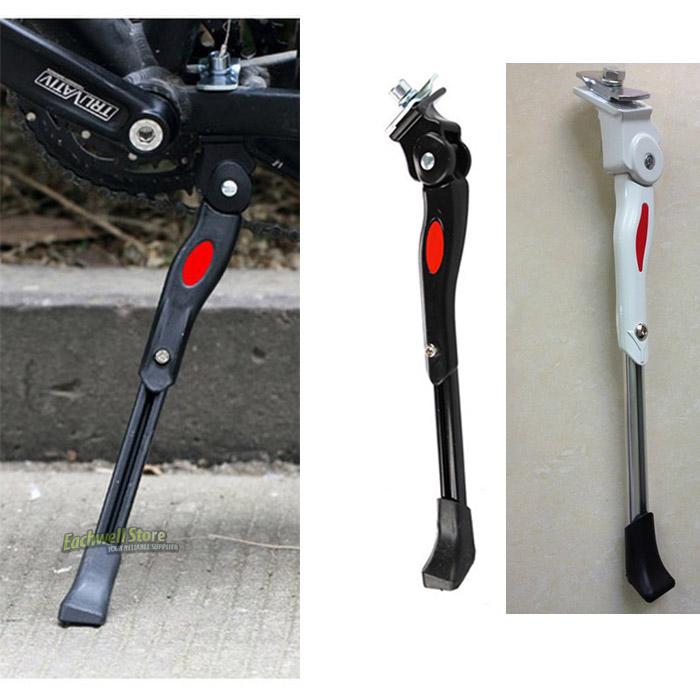 Adjustable Aluminum Bicycle Kickstand Folding Cyling Side Stand Parking Leg Rod Mountain Bike Parts(China (Mainland))