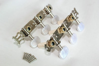 New Design White Pearl Machine Head - Classical Guitar Tuning Pegs - Chrome Color