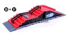 Model B+F Mini Ramp Finger skatepark/Tech-Deck Skate Park/skateboard site/platform Includes 2 Finger Board child's toy(China (Mainland))