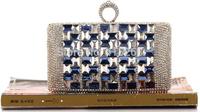 High quality lady evening bag crystal chain handbag small femal party clutch bags