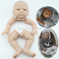 Free shipping TOP QUALITY Body (head leg arms) for reborn baby doll same quality adora baby doll  kids' gift bjd doll DIY doll