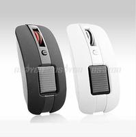 4D Mini Solar Battery Dual Power 2.4GHz 2.4G Vogue Wireless Optical Mouse Mice Free Express 10pcs/lot