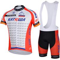 White&red Bike team Cycling suit jersey shirt+bib shorts bicycle wear clothing sportswear S-XXXL