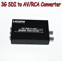 3G SDI to AV Scaler Converter Supports 300M for SD signals 200M for HD signals 100M for 3G signals