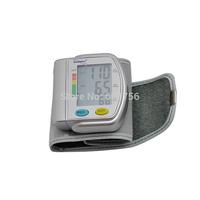 Digital LCD Automatic Wrist Blood Pressure Pulse Monitor Wrist Fully Automatic Blood Pressure Meter