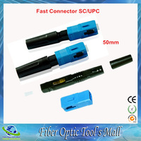 Free Shipping 50pcs/lot Telecom Standard FTTH SC Fast Connector