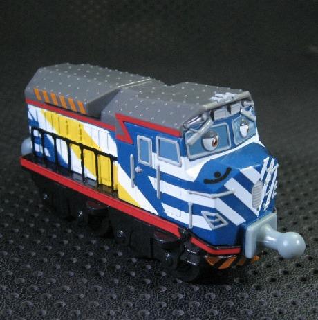 Chuggington Train - Blue Zack(China (Mainland))
