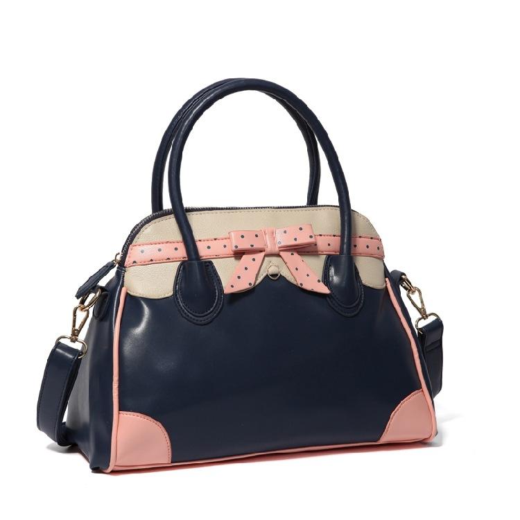 Lapin lili 1002s européen et américain de la mode design couleur hit dot. motif. épaule sacs à main