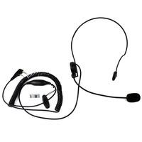 PTT MIC Headphone Headset for Radio KENWOOD QUANSHENG PUXING WOUXUN HYT TYT BAOFENG BF UV5R 888S