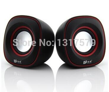 Notebook computer audio Multimedia mini speaker, portable usb subwoofer Sleek audio(China (Mainland))