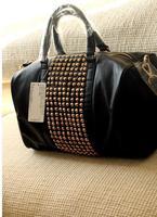 Mango women's handbag mng bag mango metal rivet women's handbag bag shoulder bag free shipping